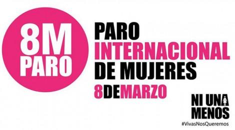 8 de Marzo de 2017: paro internacional de mujeres